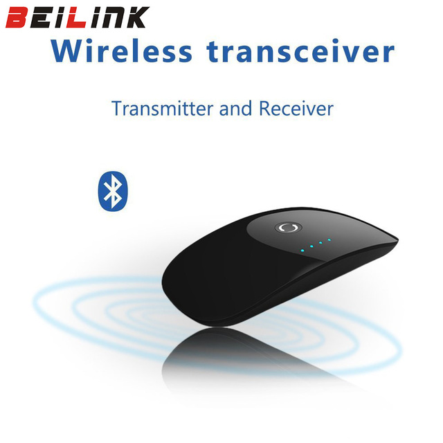 2017 Nuevo de Alta Calidad Multi-Punto 2 en 1 Bluetooth Transmisor y Receptor bluetooth Inalámbrico A2DP 3.5mm Bluetooth Adaptador de Audio