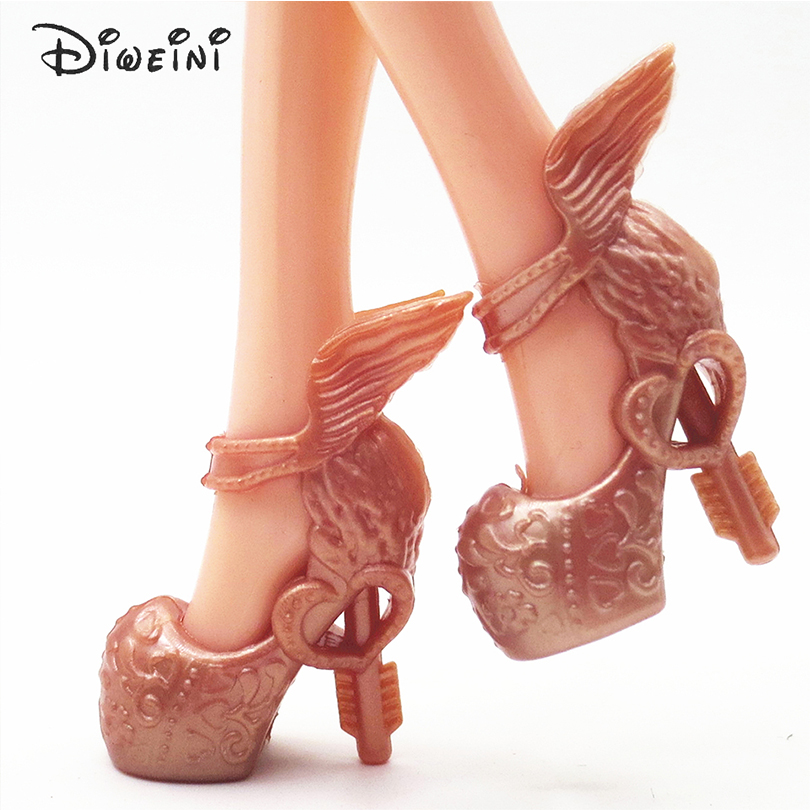 DIWEINI-12PCS-Shoes-for-Barbie-Dolls-Toys-Fashion-Doll-Accessories-Baby-Toys-Girls-Gift-Princess-fairy-tale-shoes-5