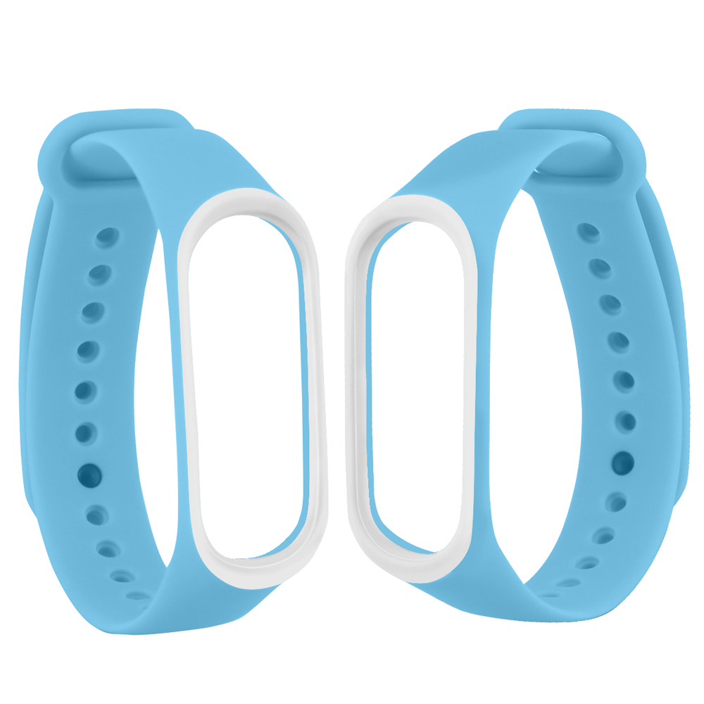 Image 5 - Smart Band Accessories For Xiaomi Mi Band 3 4 Strap Replacement Wristband Double Color Silicone Bracelet for Mi Band 4 Strap-in Smart Accessories from Consumer Electronics