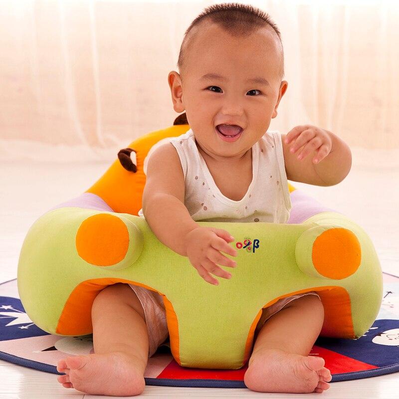 Cadeiras de bebé & Sofá Apenas Cobrir Nenhum Enchimento Bebê Cadeira Criança Crianças Lavável Crianças Saco Dos Desenhos Animados Da Pele de Luxo crianças