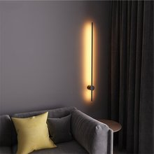 Modern Creative Simple LED Wall Lamp Nordic Minimalist Living Room Home Decor Sofa Background Wall Light Bedroom Bedside Lamps