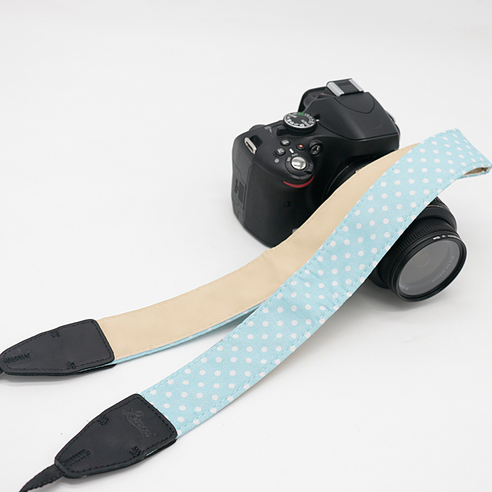 Wave point LJ-02 Camera Shoulder Strap For SLR DSLR For Canon Nikon Sony Camera free shipping