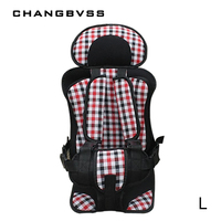Baby Portable Car Safety Seat Kids Car Seat Cushion Child Baby Car Dinning Chairs Pad Large