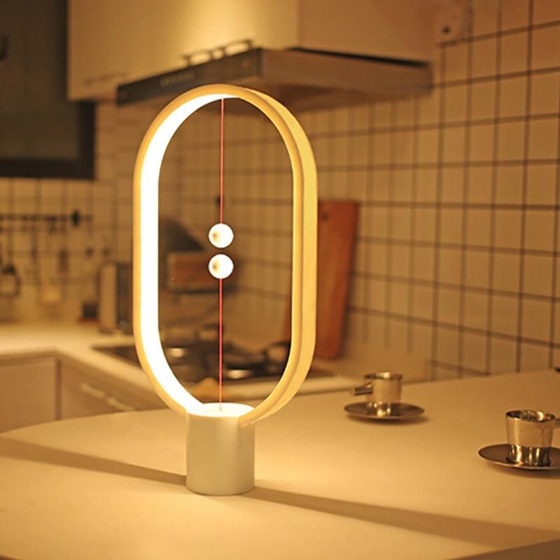 2019 New Led Light Heng Balance Lamp Indoor Table Night Light Decoration Eye Protection Study Light For Christmas