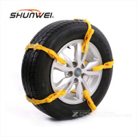 5Pcs Lot Universal Adjustable Auto Car SUV Snowblower Tire Snow Chains Mug Ice Road Ground Anti