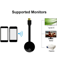 Receptor mirascreen g4  substituição para google android cromecast miracast wifi hd