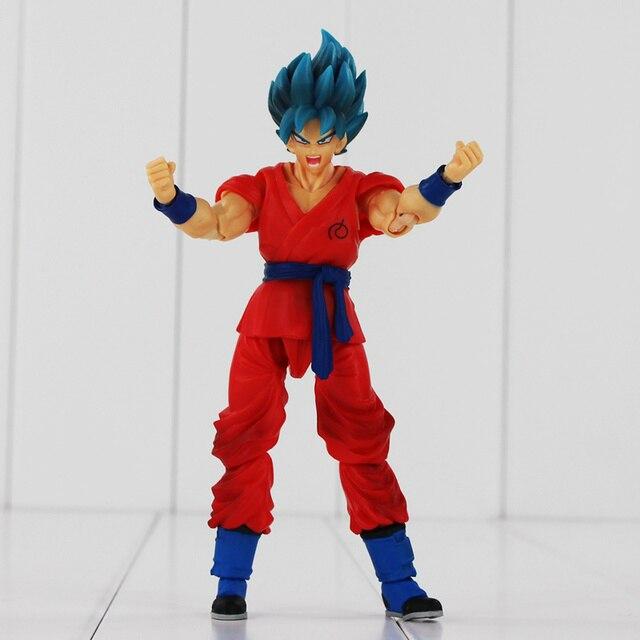 Dragon Ball Super Saiyan God Goku Joint Movable PVC Action Figure