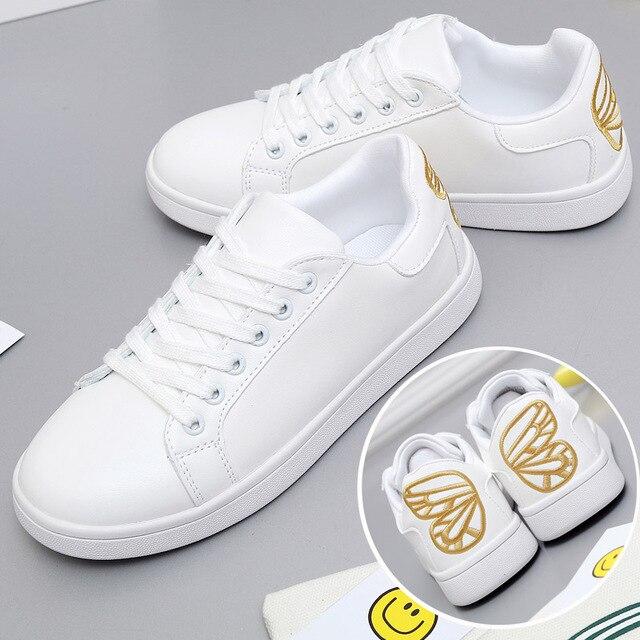 zapatos planas de blancos mariposa zapatos nueva sandalias las mujeres blanco moda 2017 la bordada de xq4ZnnBH0