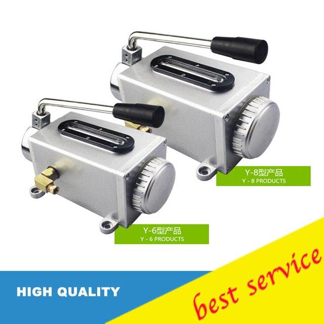 Hand pump oil pump Y-6/Y-8 lubrication pump punch pump oil machine CNC machine oiler