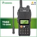 TSSD 10 W MAX Energía Estupenda y Distancia UHF Walkie Talkie 400-470 MHz Radio de Dos Vías con Alta capacidad de la Batería