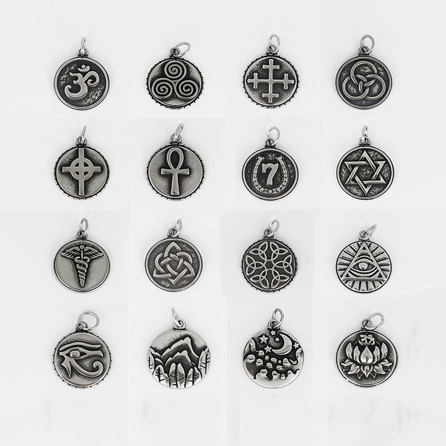 5pcs mens necklace stainless steel om ohmlove small pendant greek 5pcs mens necklace stainless steel om ohmlove small pendant greek sanskrit meditation symbol audiocablefo