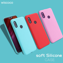 Thin Luxur Candy Soft Silicon Case For Xiaomi redmi 6 6pro 6A S2 NOTE 6 5 5A Plus pro 4X MI8 8 SE 6X Pocophone F1 Color Cover(China)