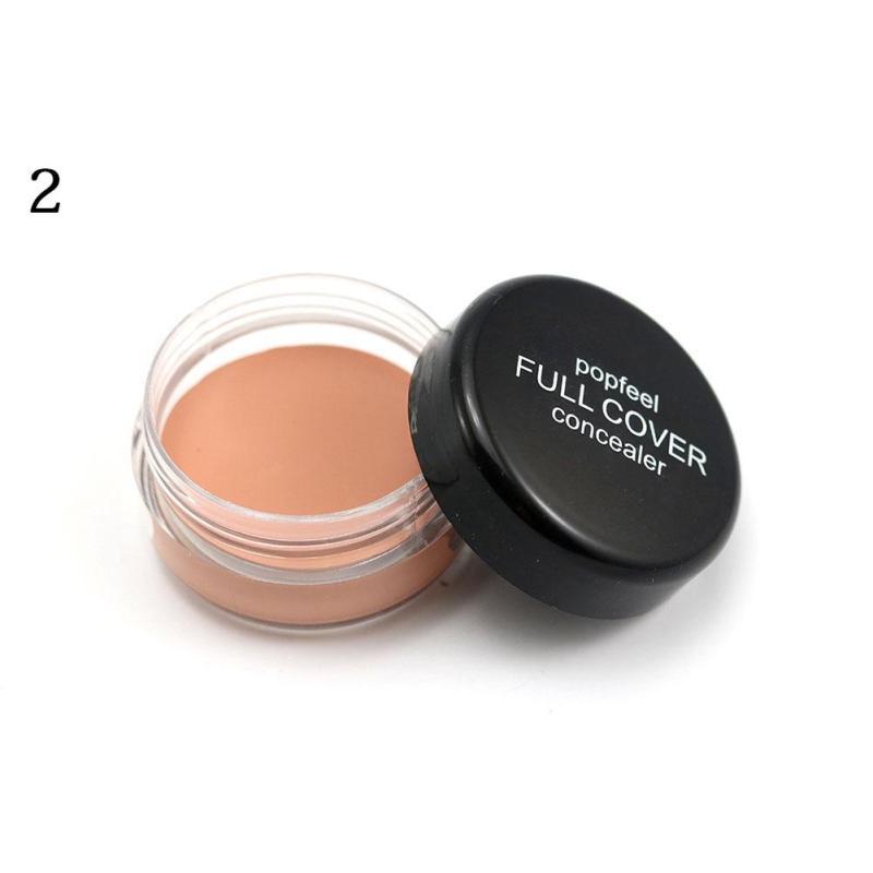 Popfeel Waterproof Concealer Makeup Camouflage Concealer Cream Moisturizing Oil-control Contour Makeup Face Primer Foundation B3