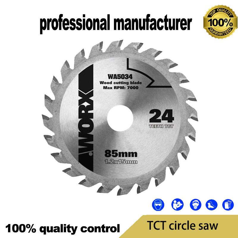 WA5034 Original Quality TCT Saw Blade For Wood Soft Metal Pipe Pvc Saw Blade For Worx Tool At Good Price For Home Decoration