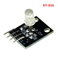 KY-016 FZ0455 KY016 4pin Três Cores 3 Cores RGB LEVOU Módulo Sensor para arduino DIY Kit