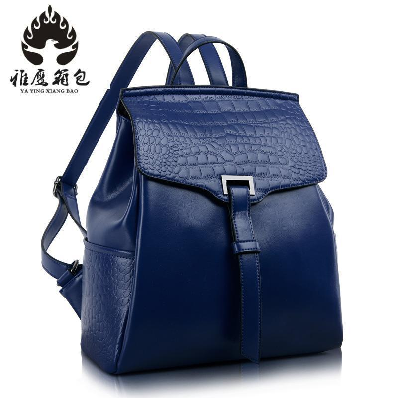 Fashion Genuine Leather Backpack Women Bags Preppy Style Backpack Girls School Bags Zipper Kanken Leather Backpack qiaobao fashion 100% genuine leather backpack women bags preppy style backpack girls school bags zipper kanken leather back