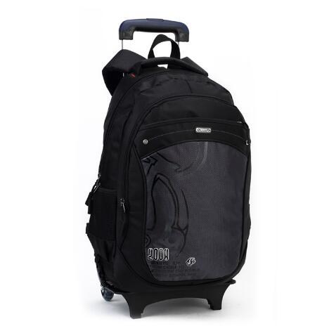 Brand Children School Trolley Backpack Bag on Wheels Mochilas Kid's Trolley Luggage Bag Waterproof Girl Boy Rolling Suitcase power reserve 1x