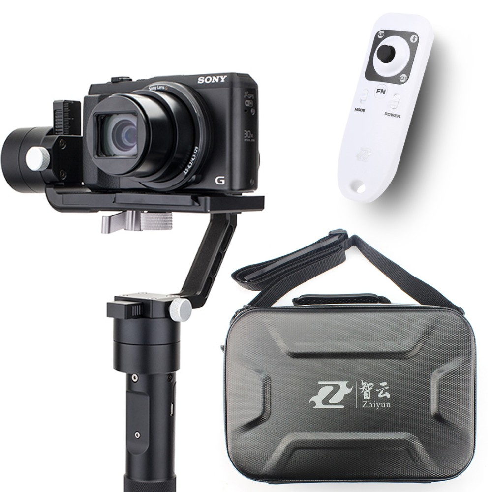 F19238-A Zhiyun Crane M 3-axle Handheld Stabilizer Gimbal +Remote controller Case for DSLR Camera Support 650g Smartphone Camera