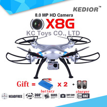 SYMA X8G Rc font b Drone b font With 8MP Wide Angle HD Camera 2 4G