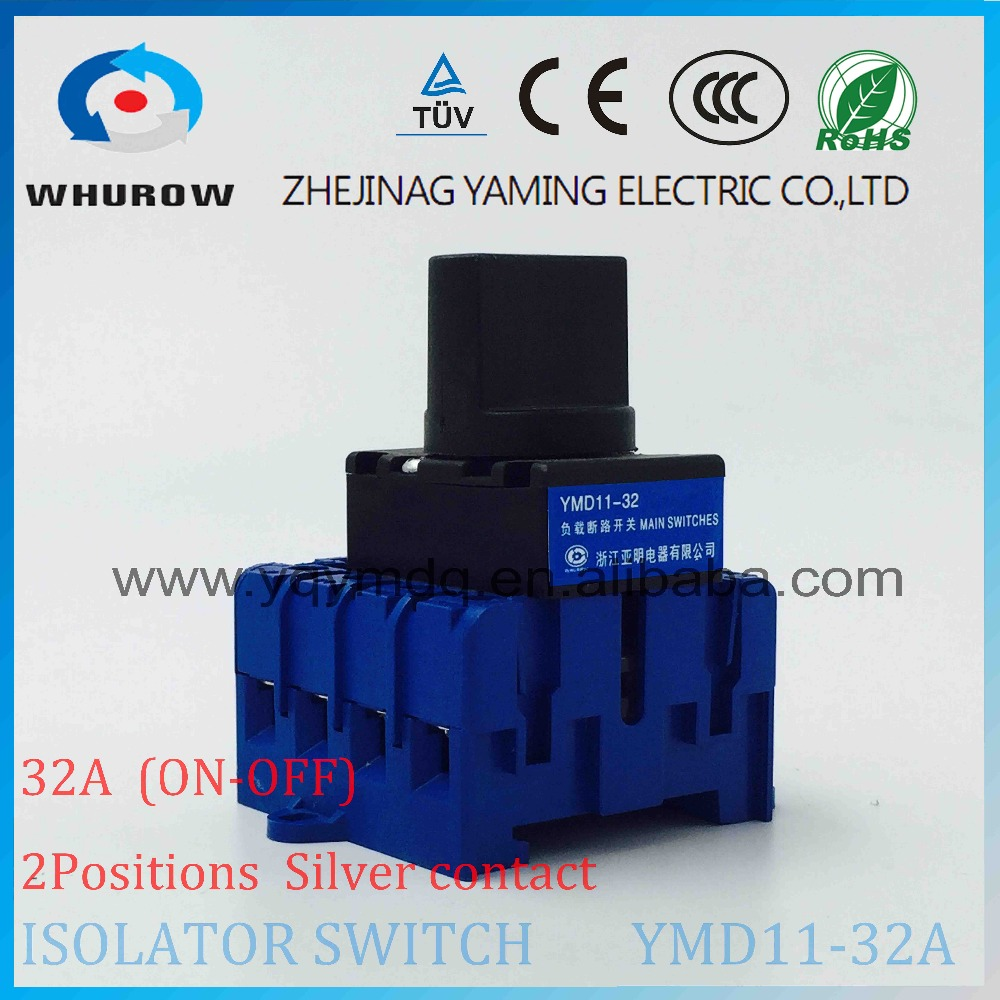 Isolator switch YMD11-32C 4Phase 32A 690V load break switch universal power cut off switch changeover cam switch ui 660v ith 32a on off load circuit breaker cam combination changeover switch