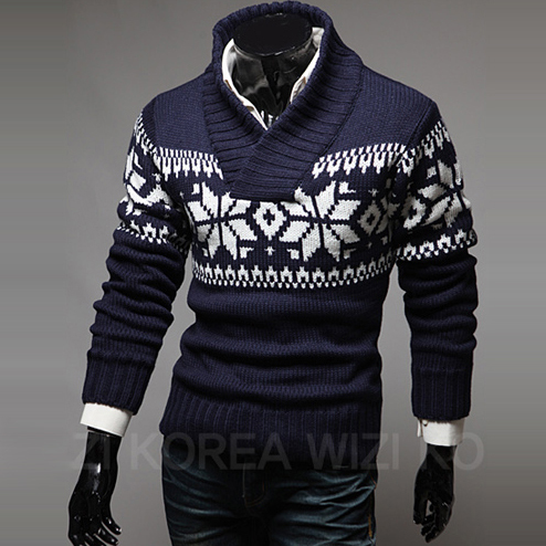 2015 New Stylish Pullover Men Winter Sweaters Knitted Warm ...