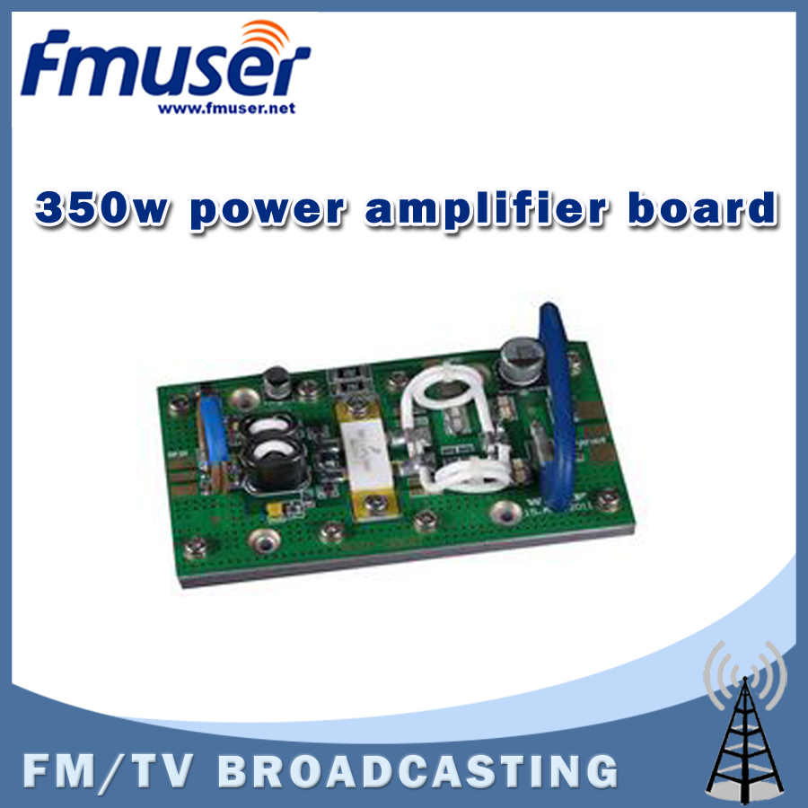 Free shipping FMUSER FSN-350H 350W RF Power Amplifier Board For FM Exciter Transmitter Input Power Less than 1.5w free shipping fmuser fu 30c new 30w fm transmitter 0 30w adjustable for fm radio station 1 2 wave dipole antenna kit