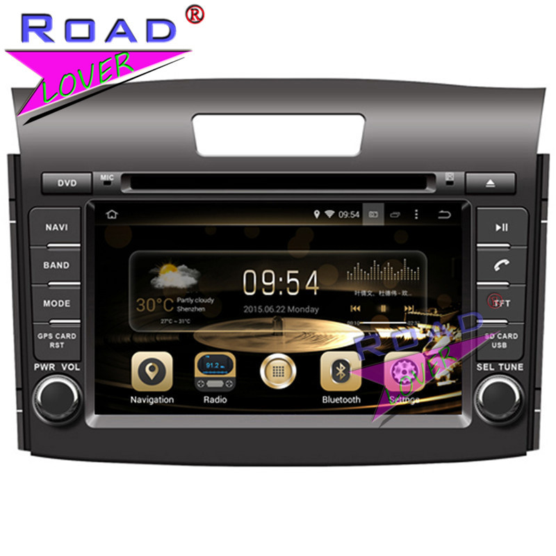 TOPNAVI Octa Core 2G+32GB Android 6.0 Car Media Center DVD Player For Honda CRV 2012- Stereo GPS Navi Capacitive Screen Audio