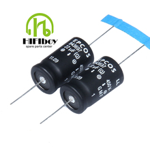 EPCOS Series Capacitor The axial high voltage electrolytic capacitor 22UF 450V 2PCS hifiboy Free Shipping