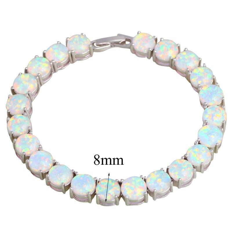 ROLILASON Marka Dizaynının ildönümü Ağ Yanğın Opal Gümüş - Moda zərgərlik - Fotoqrafiya 2