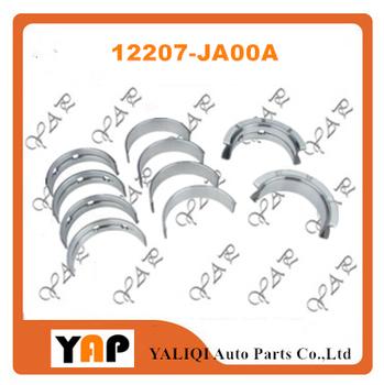 QR25DE STD łożysko główne dla FITNISSAN E26 NV350 T31 X-TRAIL QR25DE 2 5L L4 12207-JA00A 2015-2019 tanie i dobre opinie EAPENERGY Mechanizm korbowy 12cm 16cm 2500cc STD 12207-JA00A 4 CYLINDRY 0 2kg Aluminum alloy Main bearing