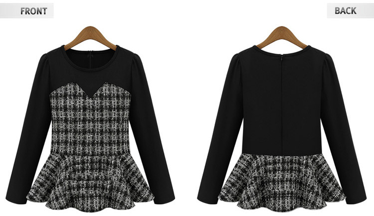 4ca7c58af8a5 Aliexpress.com : Buy Latest Long Sleeve Blouse Love heart Design New Women  Beautiful Peplum Top from Reliable women bang suppliers on Shop1045210 Store