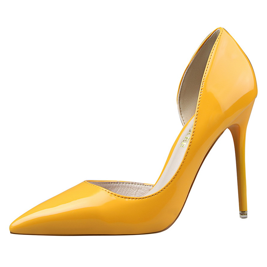 Spring Autumn Women Pumps Sexy Red Pointed Toe High Heels Shoes Woman 2017 Brand New Design Wedding Party Shoes SMYBK-077