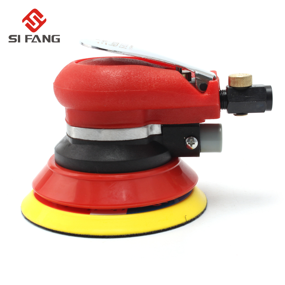 цена на 5Inch 125mm Random Orbital Air Sander Pneumatic Sander Polish Tool 5'' Air Sanding Machine Pneumatic Tools