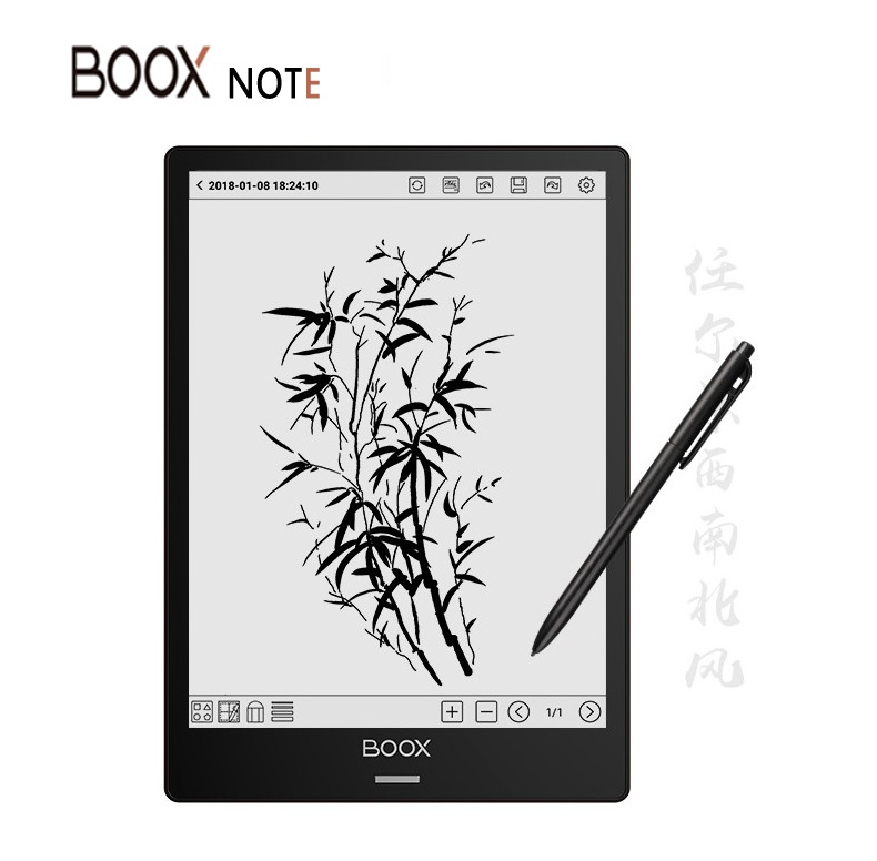 BOOX Note Ereader Android 6 0 32GB 2G 10 3 Dual Touch HD Display E Ink