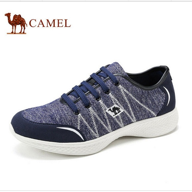 Camel casual shoes men 2016 new knit fabric shoes breathable lightweight  shoes everyday casual comfort shoes