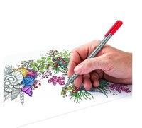 STAEDTLER 334 C36 36 Nghệ Thuật màu sắc Marker Bút đặt 0.3 mét Tốt vẽ Point art Bút Đánh Dấu Nước Dựa Trên Mực Không Có-tox thiết kế Sáng Tạo b
