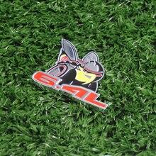 3D Super Bee 6.4L Aluminium Allloy Car Styling Emblem Dadge Sticker for Charger Challenger Ram Viper