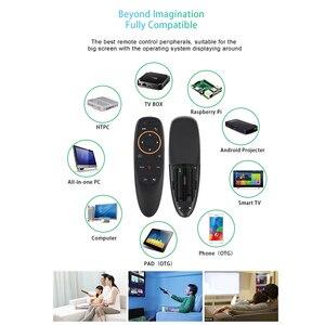 Image 4 - Воздушная мышь kebidu G10 G10S, голосовое управление, 2,4G, USB приемник G10s, с гироскопом, датчик, мини, беспроводной, умный пульт дистанционного управления для Android TV BOX