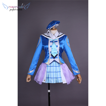 lovelive Kunikida Hanamaru Cosplay Costumes Stage Performance Clothes , Perfect Custom for You !