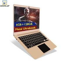 ZEUSLAP-X2 6GB RAM 128GB eMMC 13.3inch 1920x1080P FHD IPS Screen WiFI Bluetooth 4.0 Windows10 System Ultrathin Laptop Notebook