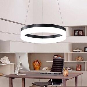 Image 2 - Современные светодиодные подвесные светильники для столовой lamparas colgantes pendientes, подвесная декоративная лампа, подвесное освещение