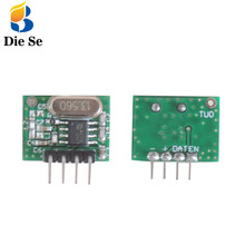 433 mhz RF Wireless Transmitter RF remote control Module Small Size Low Power for remote control adruino DIY Controller стоимость