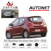 JiaYiTian Rear camera For Hyundai Era Atos Eon 2011~2018 CCD Night Vision Backup camera Reversing Camera license plate camera