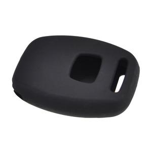 Image 5 - 2 כפתור סיליקון רכב מרחוק מפתח Fob מעטפת כיסוי מקרה עבור הונדה סיוויק אקורד פיילוט Fit Crv S2000 זרם Crosstour תובנה Cr z
