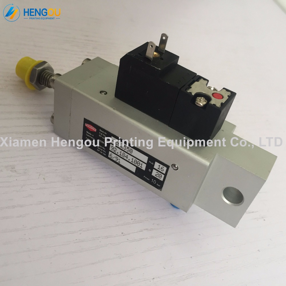 1 Piece Feeder Solenoid valve for Heidelberg CD102 SM102 CD74 printing press machine 92.184.1001 valve 1 pair heidelberg feeder paper wheel for sm102 cd102 printing machine feeder press paper wheel