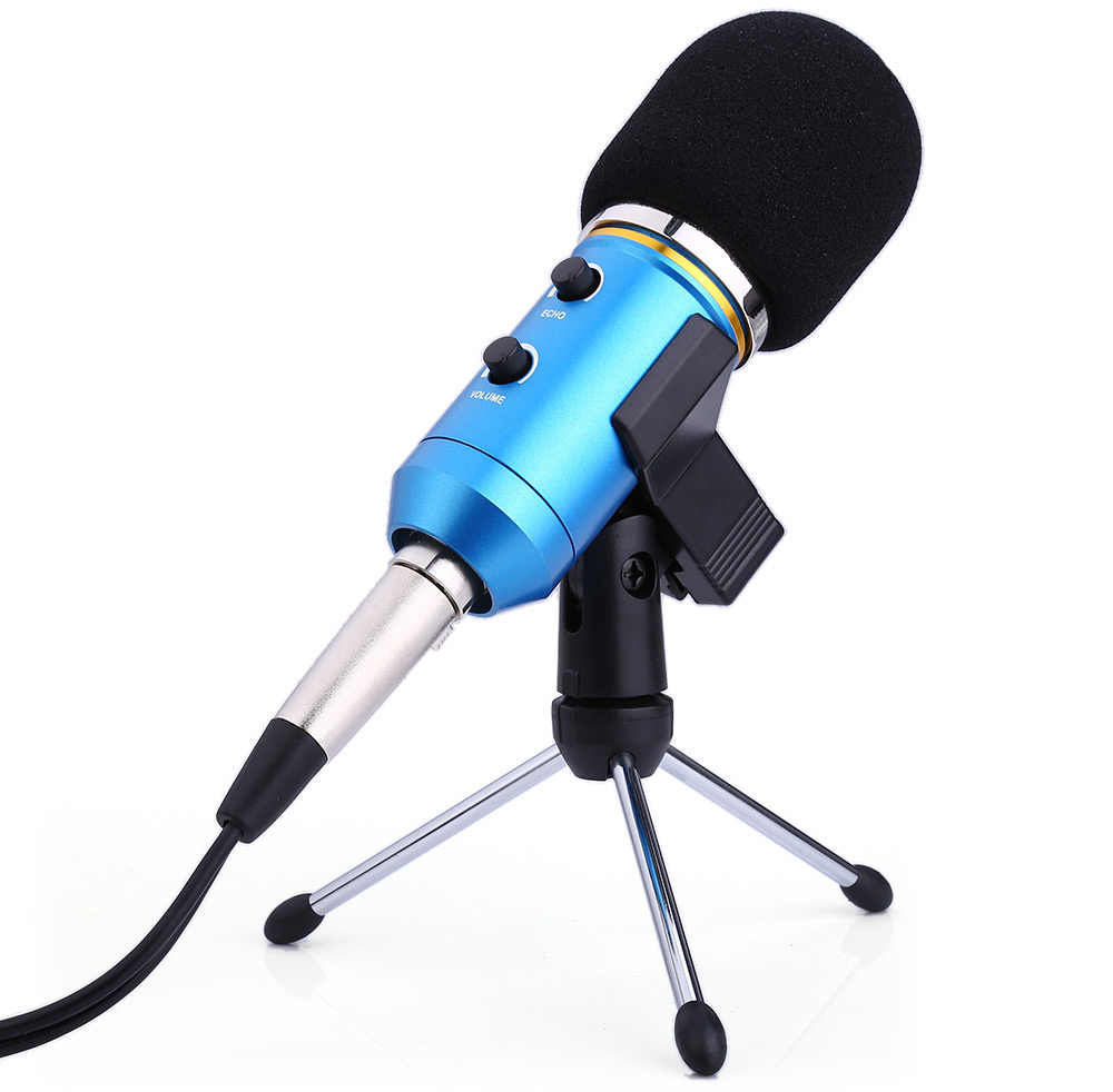 Ituf BM 900 Professional Condenser USB Microphone for computer BM-800 Upgraded Audio Studio Vocal Recording