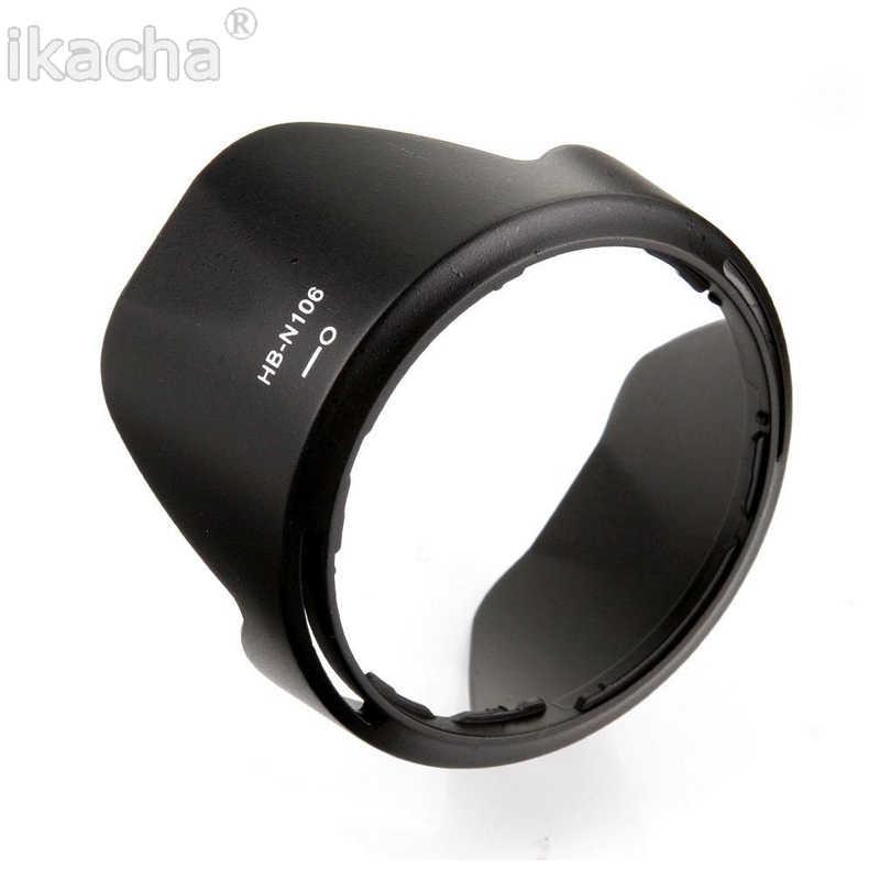 Kamera Lens Hood HB-N106 55mm Süngü Petal Geri Dönüşümlü Lens Hood Suit Nikon D3400 D3300 AF-P DX 18- 55mm f/3.5-5.6G VR Lens