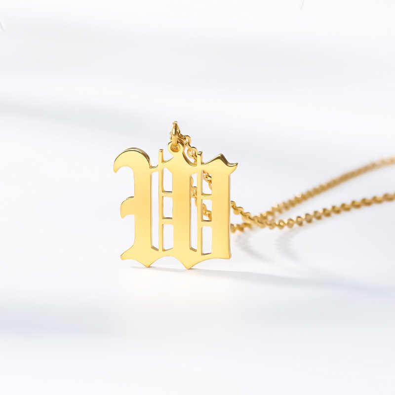 Acrílico Cadena de oro grande enlace collar libre de Reino Unido P/&p T226..