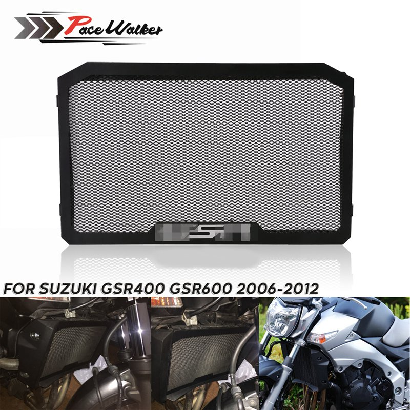 dice flame Radiator Grille Guard Cover Protector 2006-2013 Suzuki Boulevard M109 Moto new