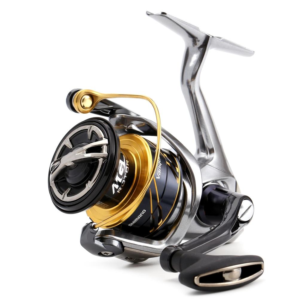 New Original Shimano VANQUISH 2500S C3000HG 4000XG Spinning Fishing Reel 6.0:1 160g 12+1BB Saltwate Fresh water Reel crash bar mt 09